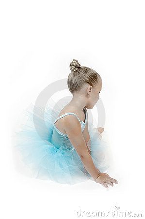 Free Peaceful Ballerina Child Royalty Free Stock Image - 799836