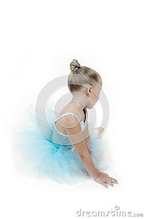 Free Peaceful Ballerina Child Royalty Free Stock Image - 799836
