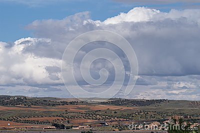 Peaceful Countryside Landscape Royalty Free Stock Image - Image: 8666696