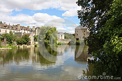 Peaceful  French village