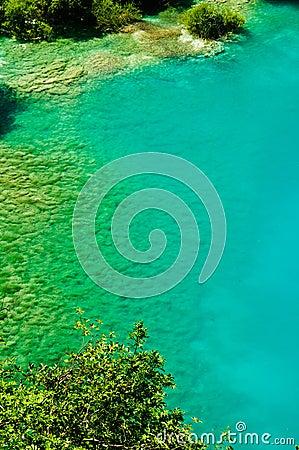 Peaceful lake at Plitvice, Croatia