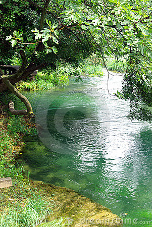 Free Peaceful River Royalty Free Stock Images - 10108789