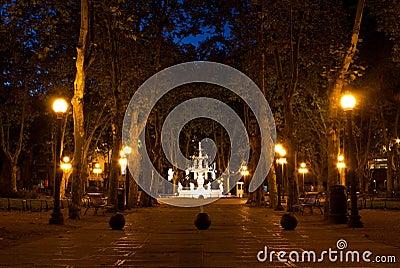 Peacefull walkway