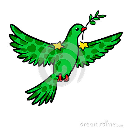Peacemaker pax dove of peace