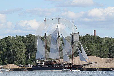 Peacemaker - Tall Ship Editorial Stock Photo
