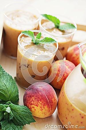 Peach coctail