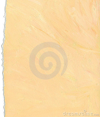 Peach color paper background with torn edges