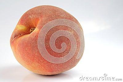 Peach isolated