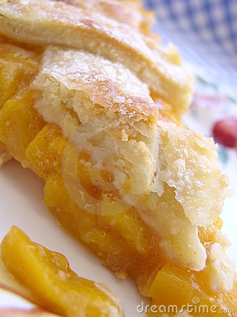 Free Peach Pie Stock Photography - 599342