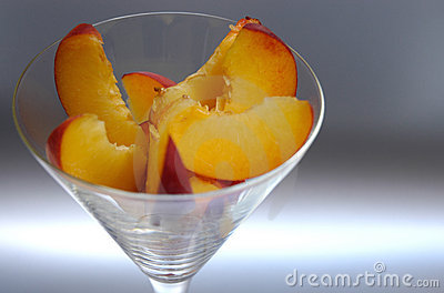 Peach slices II