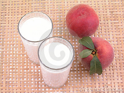Peach smoothite