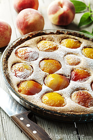 Free Peach Tart Royalty Free Stock Image - 10540816