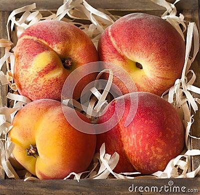 Free Peaches. Royalty Free Stock Photos - 42071048