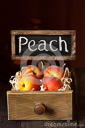 Free Peaches. Stock Images - 42071244