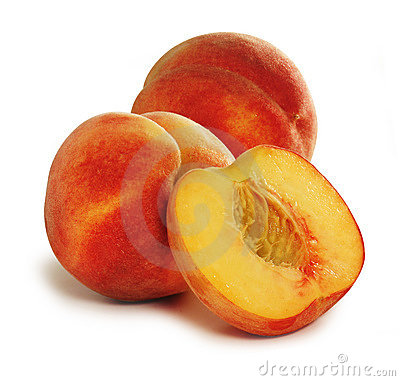 Free Peaches Royalty Free Stock Photo - 5341255