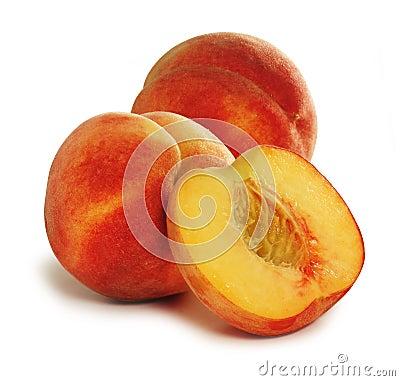 Free Peaches Royalty Free Stock Photo - 5341255