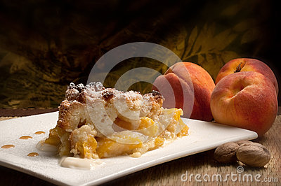Peaches genoise