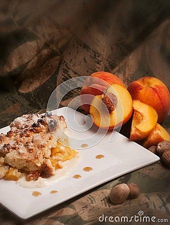 Peaches genoise
