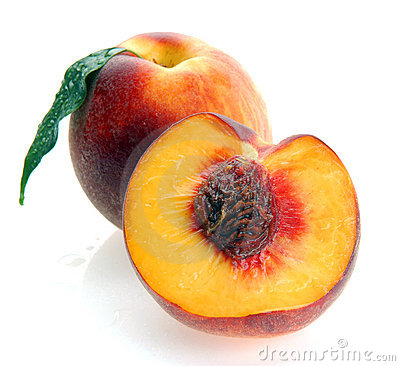 Peaches and a half