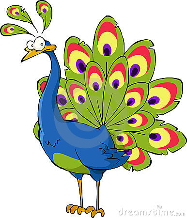 Cartoon Peacock Stock Photos, Images, & Pictures - 877 Images