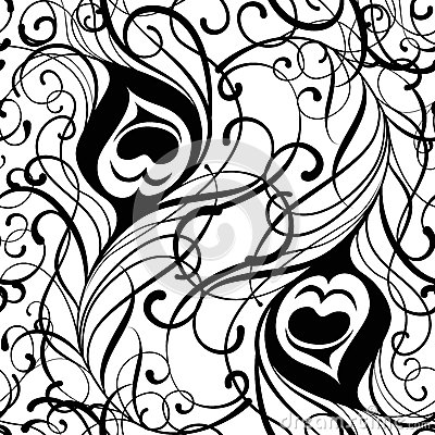 My Little Pony Black And White · · 3-d-diamonds-drawing · · Peacock Pattern Outline