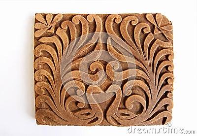 Peacock Ornamental Tile