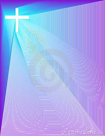 Peacock-Purple Cross Sm Background