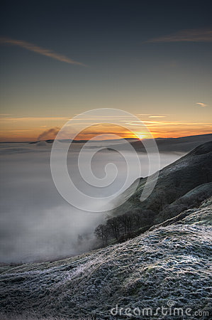 Peak District Sunrise Stock Photography - Image: 25251512