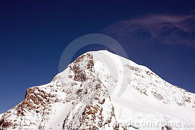 Peak of Eiger in Swizz Alps