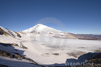 Peak Elbrus - highest point in Russia and Europe