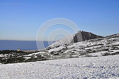 Peak Snezka 1602 m n.m.