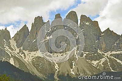 Peaks of Dolomites