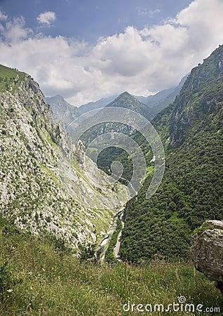 Peaks of Europe, in Asturias, Spain