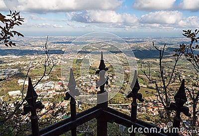 Peaks of a gate