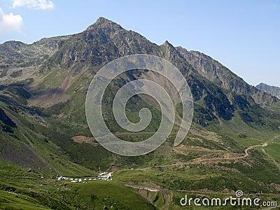 Peaks in Pyrennes