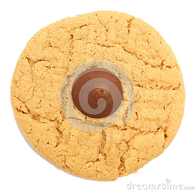 Free Peanut Butter Chocolate Cookie Royalty Free Stock Photography - 83370487