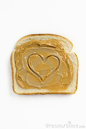 Free Peanut Butter Heart Stock Photos - 9834993