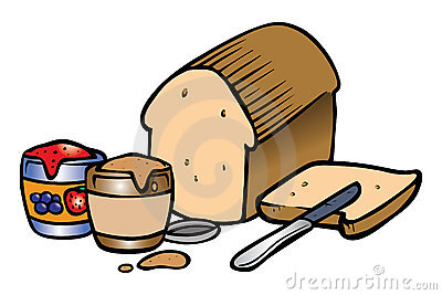 Peanut Butter Jelly Sandwich Royalty Free Stock Images ...