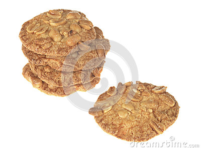 Peanut Crunchy Biscuits
