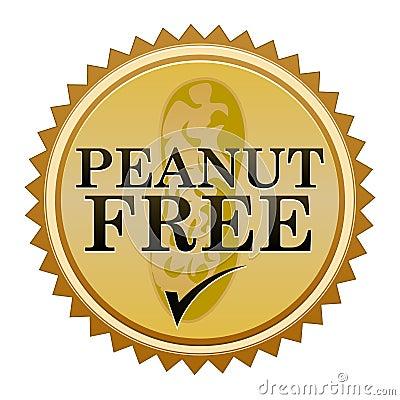 Peanut Free Seal