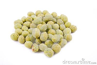 Peanut wasabi flavor