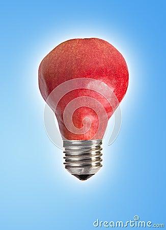Pear bulb