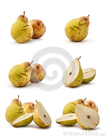 Pear collage