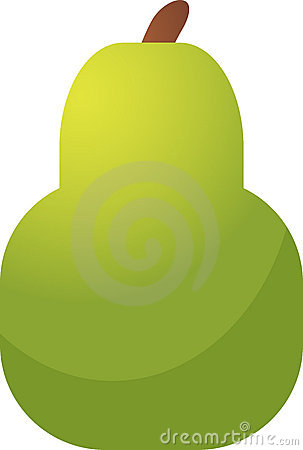 Pear fruit icon