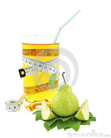 Pear juice and meter