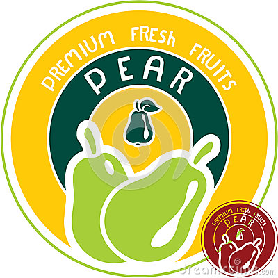 Pear label