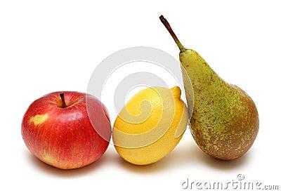 Pear lemon and apple