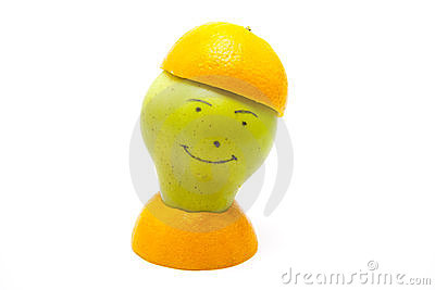 Pear with look