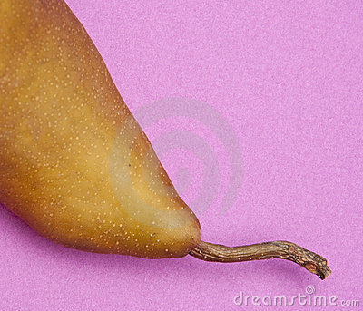 Pear on Purple
