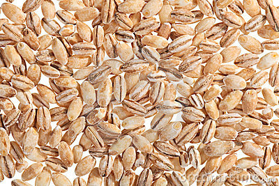 Pearl barley food ingredient background